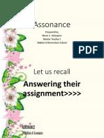 Assonance(F1.3)