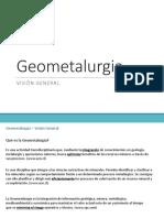 Geometalurgia 2 Visión General (1)