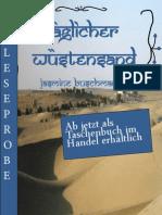 Leseprobe Jasmine Buschmann - Täglicher Wüstensand