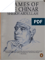 1993 Flames of the Chinar--An Autobiography by Abdullah s