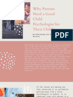 Why parents need a good child psychologist for their child?