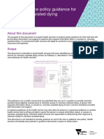 VAD - Health Service Policy Guidance for Voluntary Assisted Dying