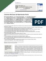 Consenso Mexicano de Hipertensión Portal