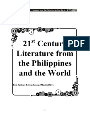 21st Century Literature of the Philippines and of the World
