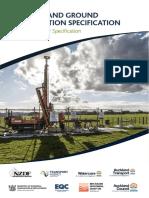 NZ Ground Investigation Specification Vol 1
