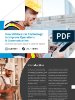 How Utilities Use Technology to Improve Operations
