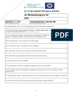 research report template