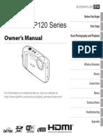 Fujifilm Finepix XP120 Owner's Manual