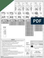 Support Saddle for Horizontal Equipments NNNNN 0000 M31 DW 00001 E