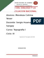 Informe Coordenadas Utm Geodesia