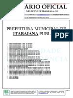 Diário Oficial Eletrônico do Município de Itabaiana - N° 1936 - 05.06.2019