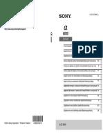 a6000 Manual