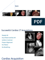 Cardiac CT Acquisition Modes