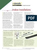 Airtight Window Installations