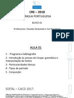 Português Aula 03 Apresentação II