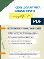 LOG Pearson Tipo III