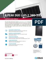 Hanwha q Cells Data Sheet Qpeak Duo L-g5.2 380-395 2018-04 Rev04 Au