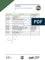 fmp production schedule