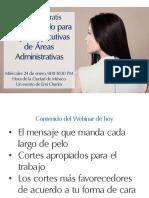 Cortes de Pelo Para Mujeres Ejecutivas de Áreas Administrativas