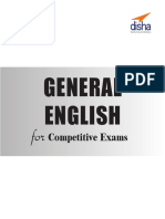General English for Competitive Exams - SSCBankingRailwaysDefenseInsurance