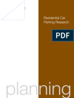 Residential Car Parking Research