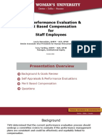 Performance Evaluation and Merit Based CompPresentation for Employees