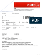 Lion Air ETicket (XZAQPV) - Susanti - Agent Copy