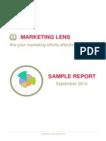 Sample Report