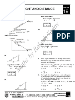 Height and Distance PDF-1