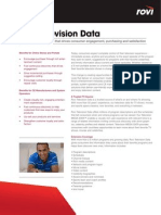 Factsheet TVData July09