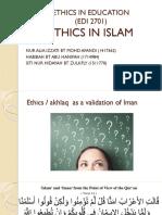 Ethics in Islam