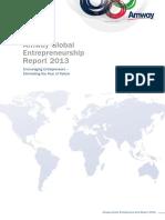 2013 Amway Global Entrepreneurship Report 18