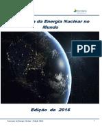 2016 - Panorama Da Energia Nuclear -Nova Edição 2016 M