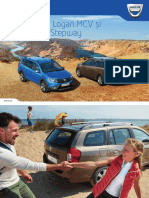 Dacia Noul Logan Mcv Stepway Brosura