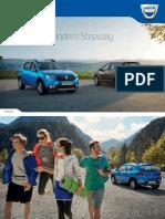 Dacia Sandero Stepway Brosura 2017