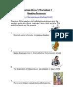 Sample Stonehenge Worksheets