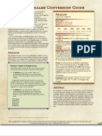 Forgotten Realms Conversion Guide _ GM Binder