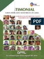 Historia Que Merece Ser Contada Gran Mercado Mayorista de Lima
