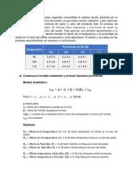 Ejercicio 22 Diseño Factorial