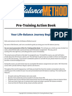 Life Balance Method - Pre Training Action Book