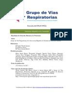 Protocolo Neumonia 2017
