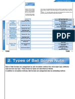Ballscrew Product Specifications(1)