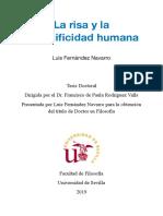 Fernández Navarro, Luis -La Risa y La Especificidad Humana
