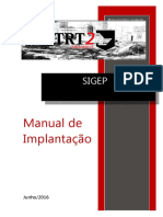 Manual de Implantação do Sistema