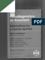 362123556 Psicodiagnostico Rorschach Sistematizacion y Nuevos Aportes