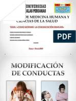 Modificacion de Conducta Ppt