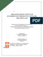 Organization Study Scoobee Day.