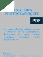 Les Genres Photographiques
