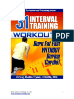 31 Interval Training Workouts