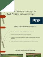 baseballdiamondconceptforportpositioninlaparoscopy-160112060321.pptx